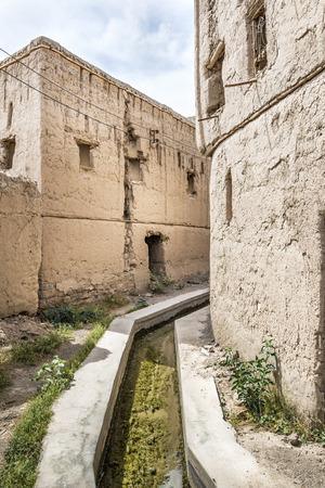 birkat: Image of Falaj in Birkat al mud in Oman