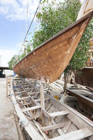 construction navale: La construction navale traditionnelle ouvrage Sur Oman