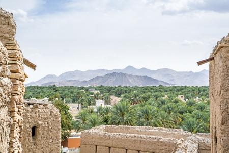 birkat: Image of a view from Birkat al mud in Oman