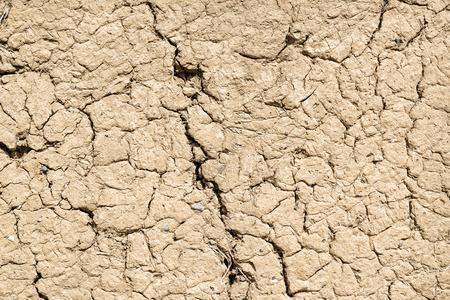 birkat: Image of a part of a clay wall in Birkat al mud in Oman Stock Photo