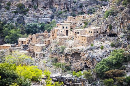 Image of ruins Wadi Bani Habib in Oman