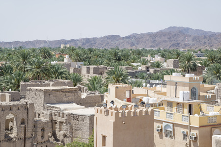 continued: View from the ruins of the town continued to Nizwa, Oman