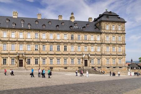 residenz: Image of Residenz in Bamberg, Bavaria Germany in summer