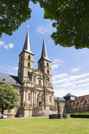 benedictine: Image of the Benedictine monastery of St. Michael on the Michelsberg in Bamberg, Bavaria, Germany