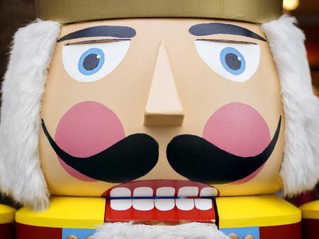 Big nutcracker at the Christmas Market Stock fotó - 42451749