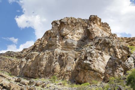 oman: Landscape near Nizwa in Oman, Middle East