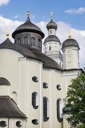 pilgrimage: Picture of pilgrimage church Maria Birnbaum in Germany, Bavaria Stock Photo
