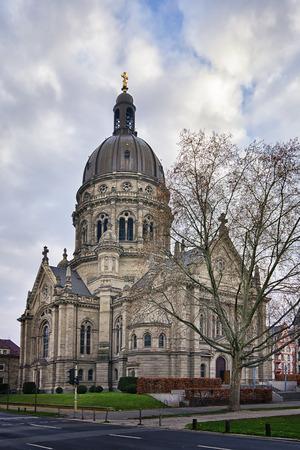 christus: Image of Christus church in Mainz, Germany