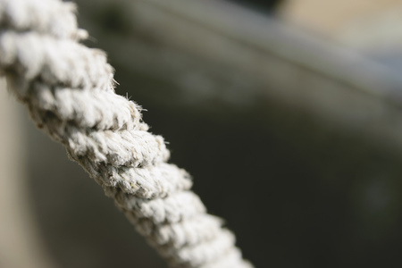 Close image of a rope