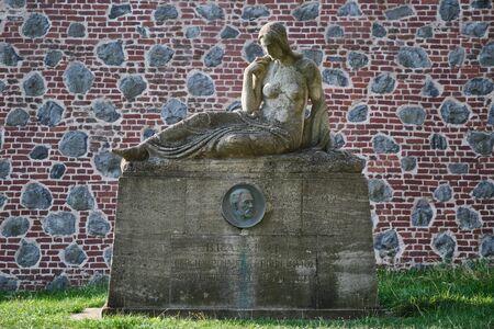 Monument statue of Brassert Bonn, Germany Stock fotó