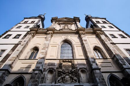Image of Namen Jesu Church in Bonn, Germany in summer