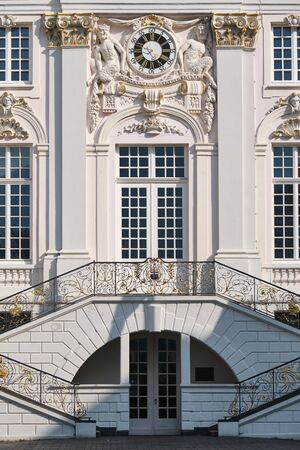 Image of the entrance and stairs of townhall in Bonn, Germany Stock fotó