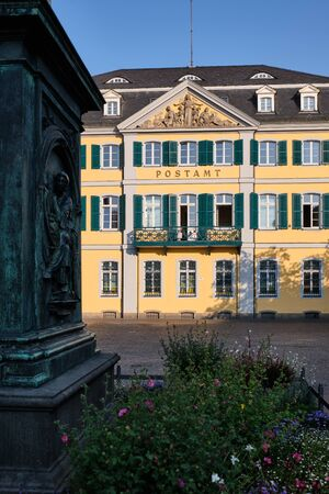 Image of the old post office in Bonn, Germany Stock Photo