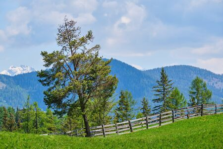 Image of beautiful mountain landscape in Sout Tirol, Italy