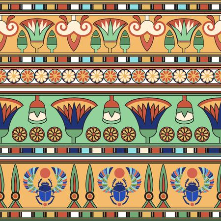 エジプトの飾り  イラスト・ベクター素材