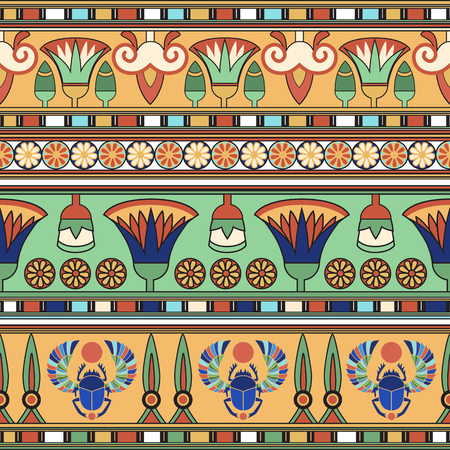 egyptian culture: Egyptian ornament