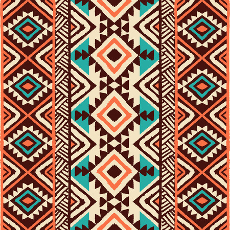 Ethnic ornament. Seamless Navajo pattern. Vector Illustration