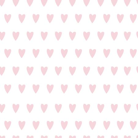 Seamless pattern with heart. Valentines day template background