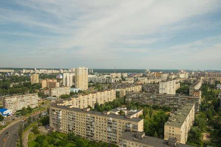 house series: Ukraine. Kiev. Housing area. Obolon District. Serial building. 2016.