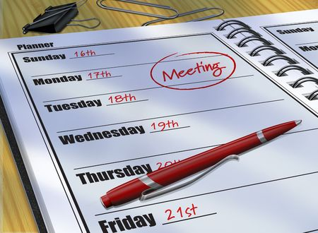 Daily Planner Meeting