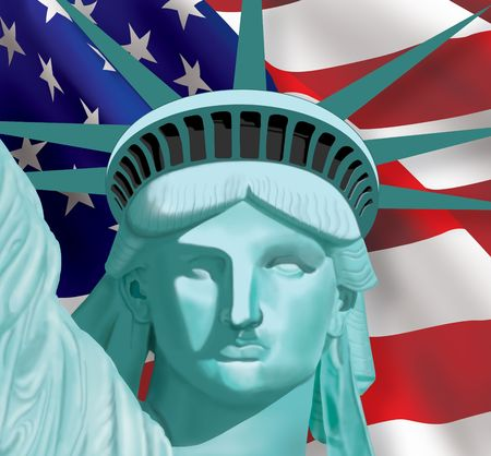 Lady Liberty Stock Photo - 7726434