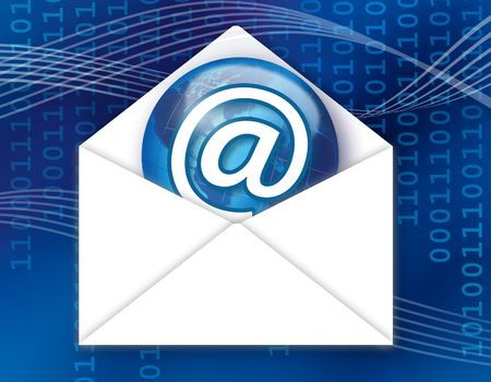 Recieved Mail Stock Photo - 7726430