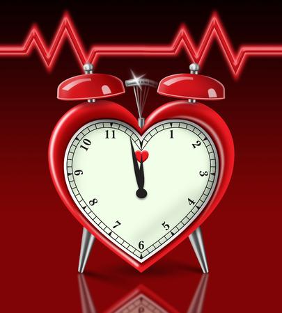 Heart Attack Alarm Imagens