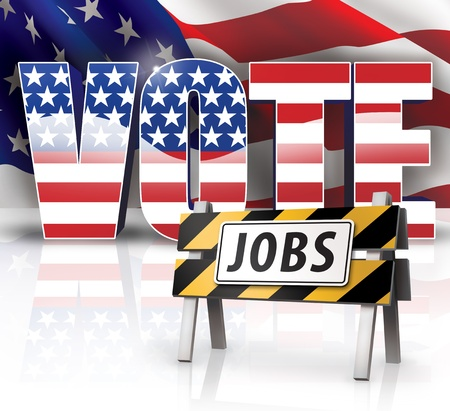 Jobs VOTE Stock Photo - 14932236