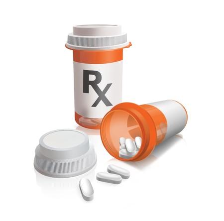 Prescriptions drugs Stock Photo