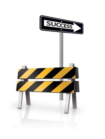 barrier: Success Barrier