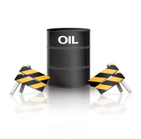 barrier: Oil Barrier