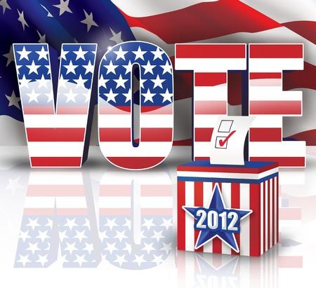 Vote 2012 Stock Photo - 14932282