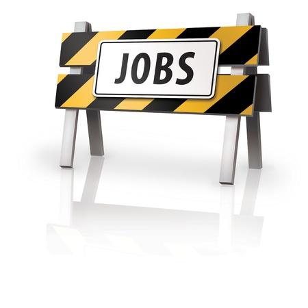 Job Barrier Stock Photo - 14932258