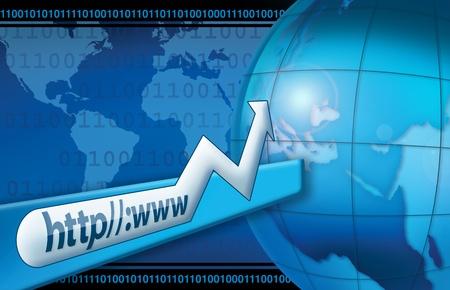 Internet World Stock Photo - 15663245