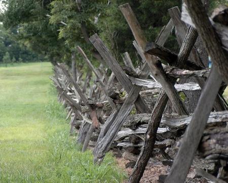Civil War Fence at Parker s Crossroads