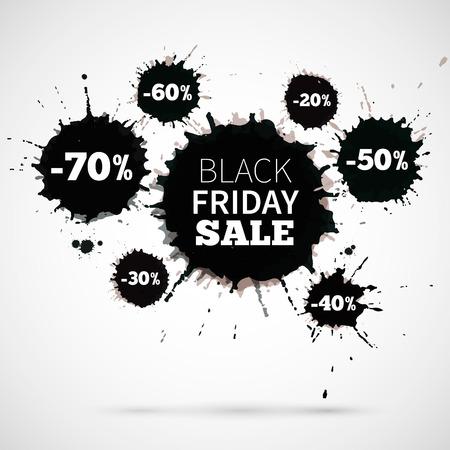 Résumé illustration vectorielle Black Friday vente pour votre oeuvre de l'entreprise. Grande remise Banque d'images - 32837613
