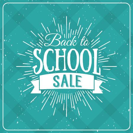 hot deals: Back to School Typographic - Vintage Style Back to School Hot Deals Design Layout In Vector Format Illustration