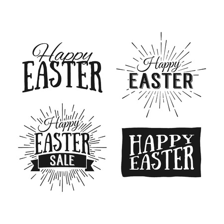 Happy Easter greeting card. Easter sale.