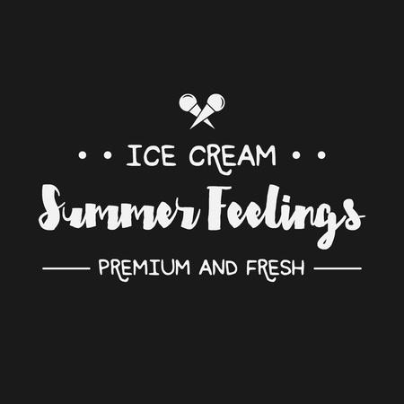 yogurt ice cream: Ice Cream Design Badges and Labels. Vector Illustration. Ice Cream Logo design element. Retro label for Ice Cream Shop. Vintage Emblem Creamery. Ice Cream and Frozen Yogurt Logos. Summer badges. Illustration