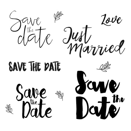 Save The Date Templates | Save The Date Wedding Invitation Labels Save The Date Lettering