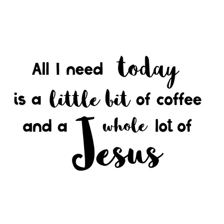 Coffee And Jesus Svg Etsy