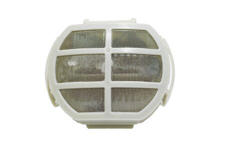 Filter wash machine. Imagens