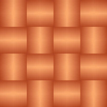 Wicker texture. Basket weave background. Vector seamless pattern.