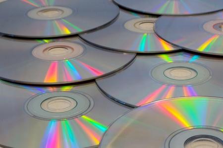Compact Discs Reklamní fotografie