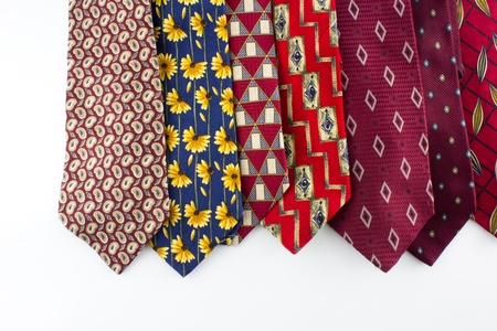 Outdated Ties Stock Photo