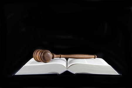 precedent: Legal Text Books and A Gavel