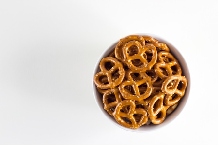 pretzel: Pretzel Twists Stock Photo