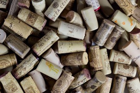 Wine Bottle Corks Editorial