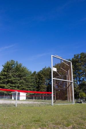 backstop: Baseball Field