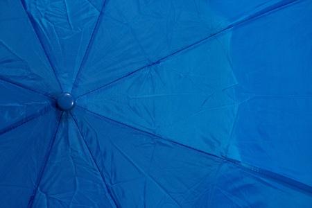 Blue Umbrella Banco de Imagens